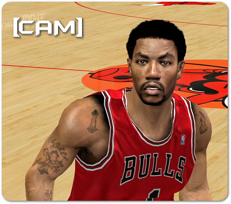 D.Rose HD Cyberface Patch NBA 2K14
