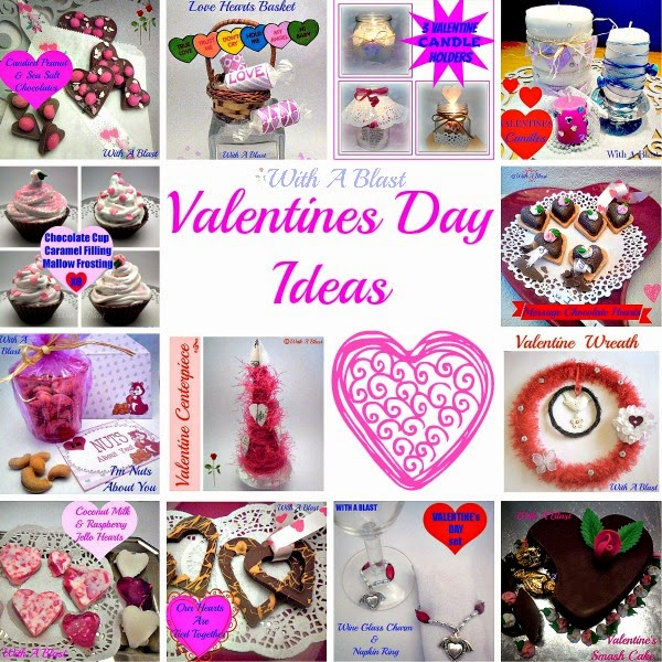 Valentines Day Ideas !  A Collection of  #crafts #recipes #decor for #ValentinesDay