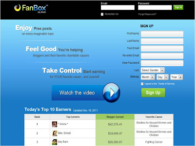 FanBox Earn Money