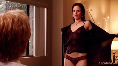 mary-louise parker undressing her wet dress exposing her panties