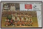 1980-1981 sezonu takım kadrosu.