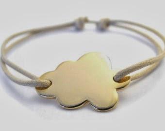 bracelet nuage etsy