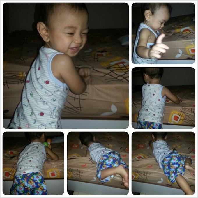 Faris Zakwan dah 9 bulan