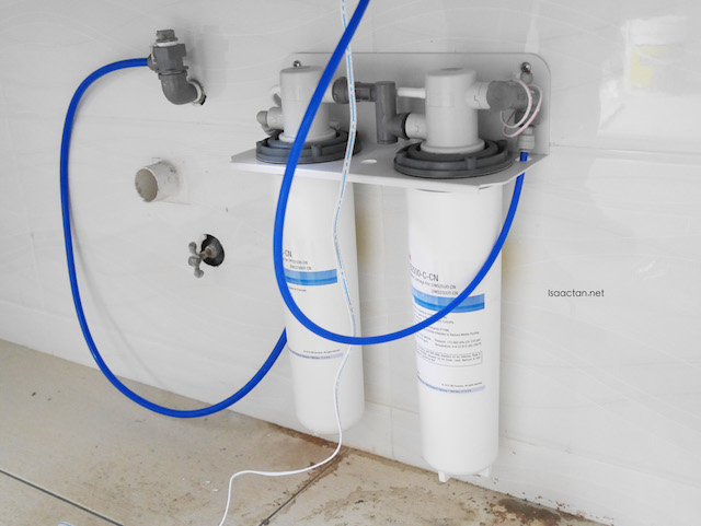 Fixing the DWS2500T-CN Indoor Advanced Drinking Filter