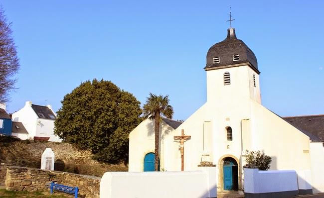 Eglise - Locmaria - Belle Île