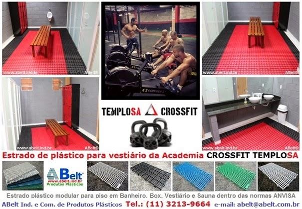 Piso plastico para CrossFit Templo|SA São Paulo