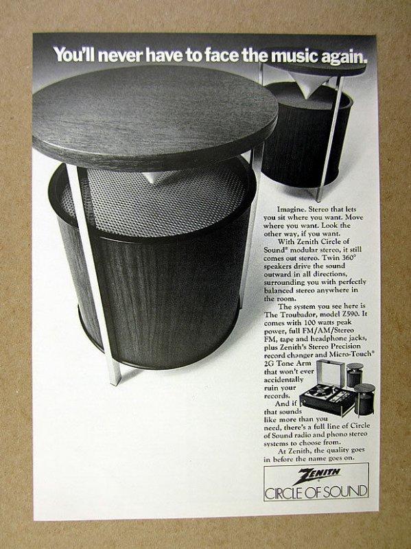 Art Of Makenoize Vintage Cylinder Speakers Zenith Circle