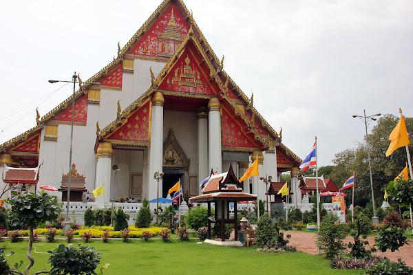 Viharn Phra Mongkol Bophit el palacio de Ayutthaya