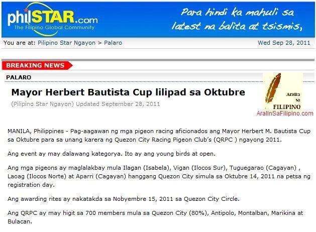 Bahagi ng Pahayagan Dyaryo BALITANG ISPORTS Sports News PAMPALAKASAN 8