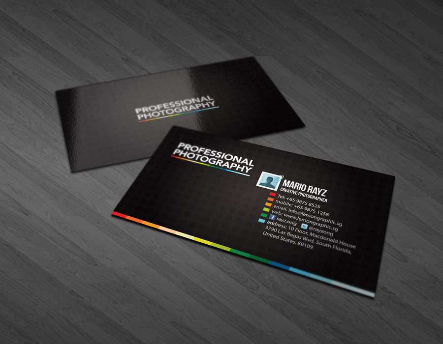 31) Business Card
