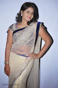 Actress Tanusha Photos in Saree at Present Love Audio-thumbnail-14