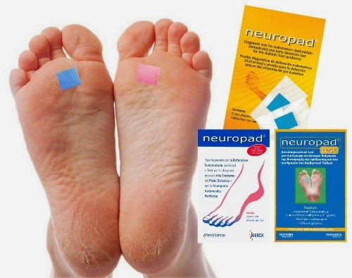 This tiny foot patch could help you detect neuropathy to avoid diabetic foot damage