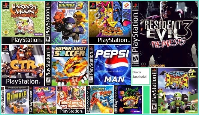 Download Game PSX PS1 Fpse ePSXe Android dan Komputer/PC
