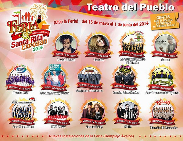 Teatro del pueblo feria santa rita expogan 2014