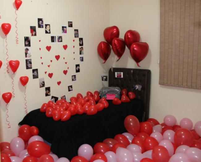 de decorar o quarto bem romantico , que é dificil de escolher haha
