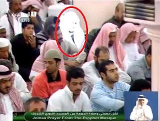 Video Laki-Laki Bercahaya Di Masjid Nabawi