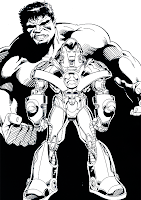 Iron Man Coloring Pages
