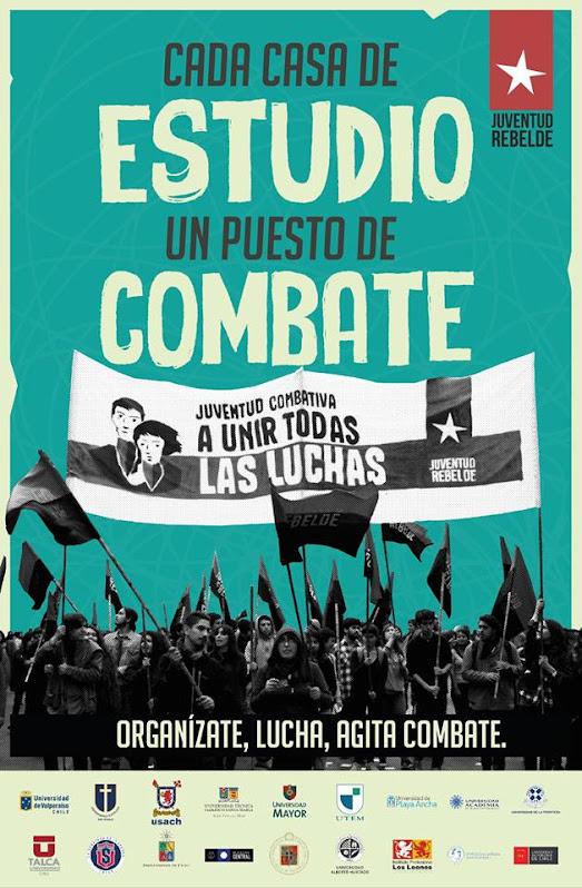 CHILE: CADA CASA DE ESTUDIO UN PUESTO DE COMBATE