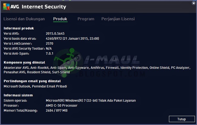 Download Antivirus AVG Terbaru Full Version