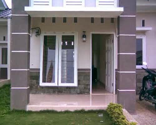 teras rumah minimalis bagian pelengkap dan pemantas