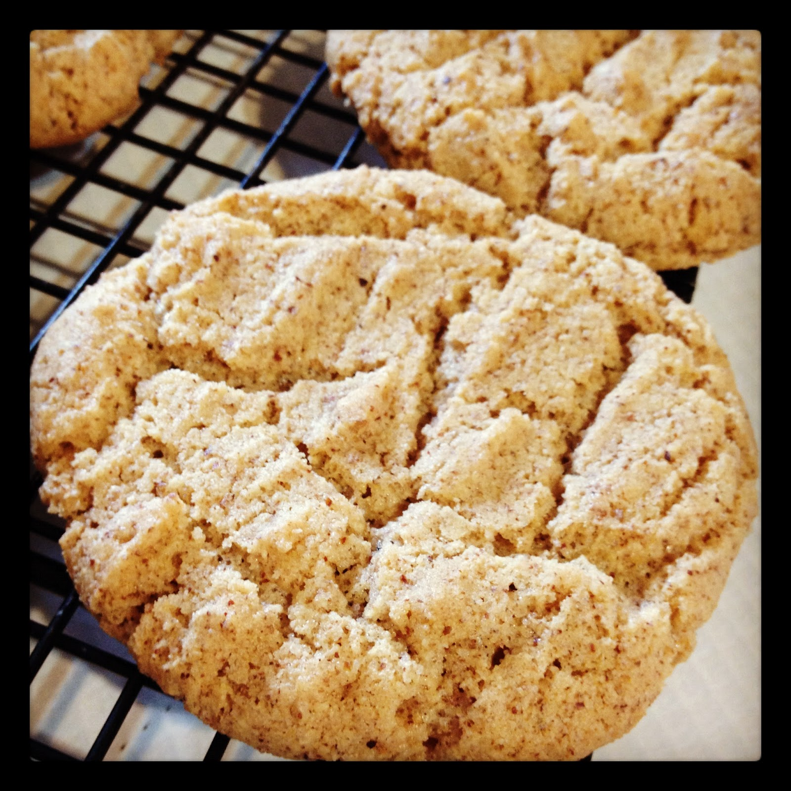 Gluten Free Almond Butter Cookies