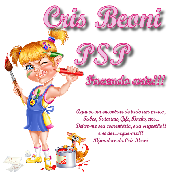 Cris Beoni, apaixonada por PSP!!!