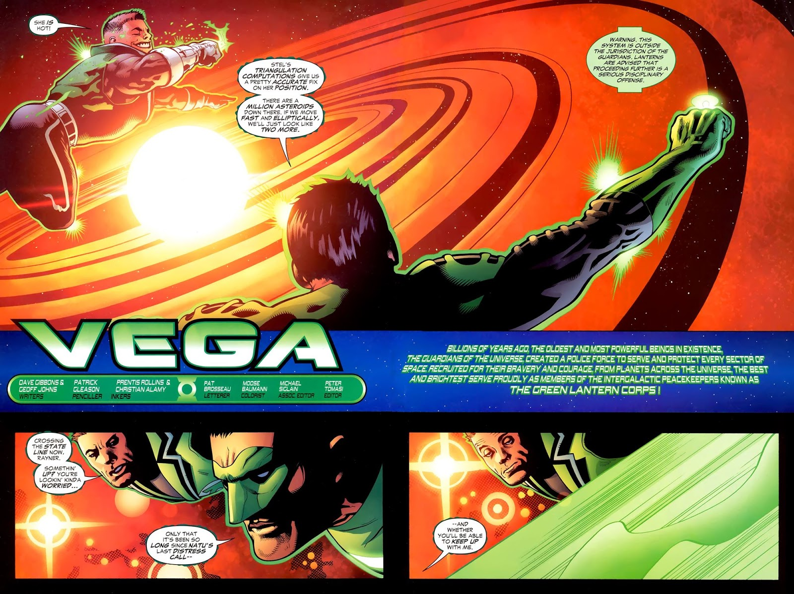 green lantern corps recharge 03 of 5 2006 viewcomic reading