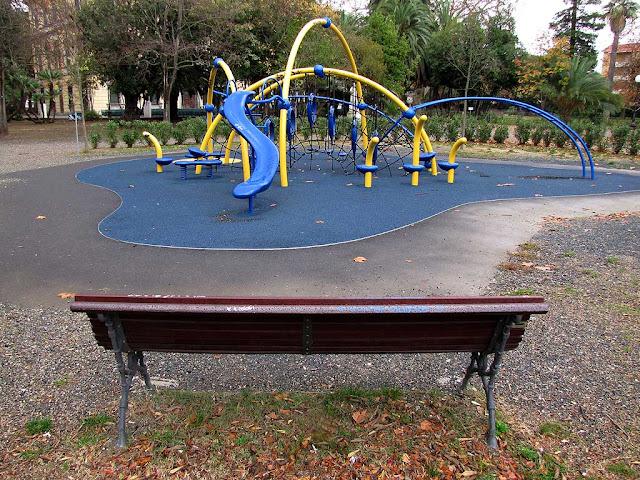 Playground, Villa Fabbricotti, Livorno