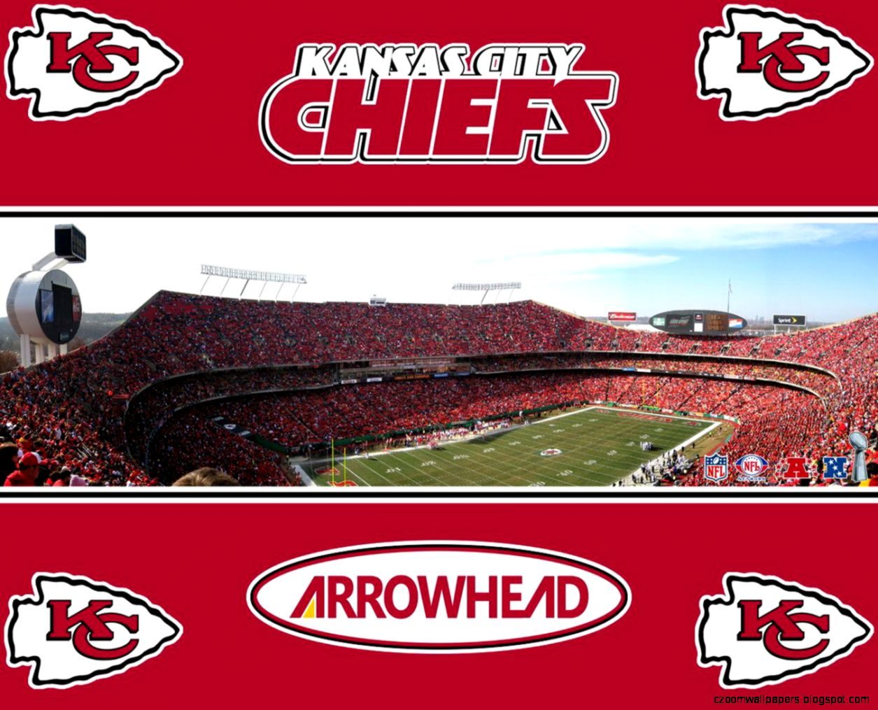 Kansas City Chiefs Arrowhead Stadium Wallpaper