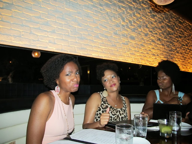 Pouty face - Birthday at Stk Atlanta - Magnum Mondays - The City Dweller