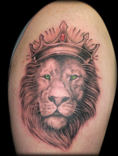 lion tattoos, tattooing
