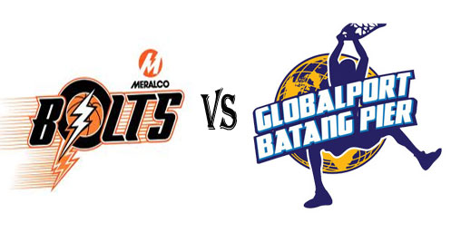Watch PBA Meralco Bolts vs Globalport Batang Pier Live Streaming
