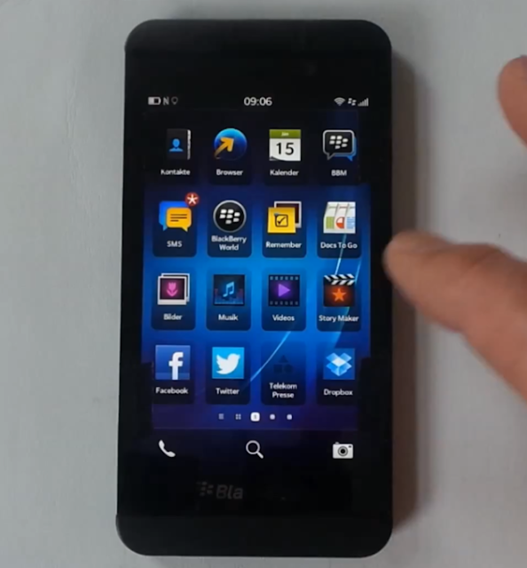 BlackBerry OS 10.0.10.261 Leaked, Now Available For BBZ10