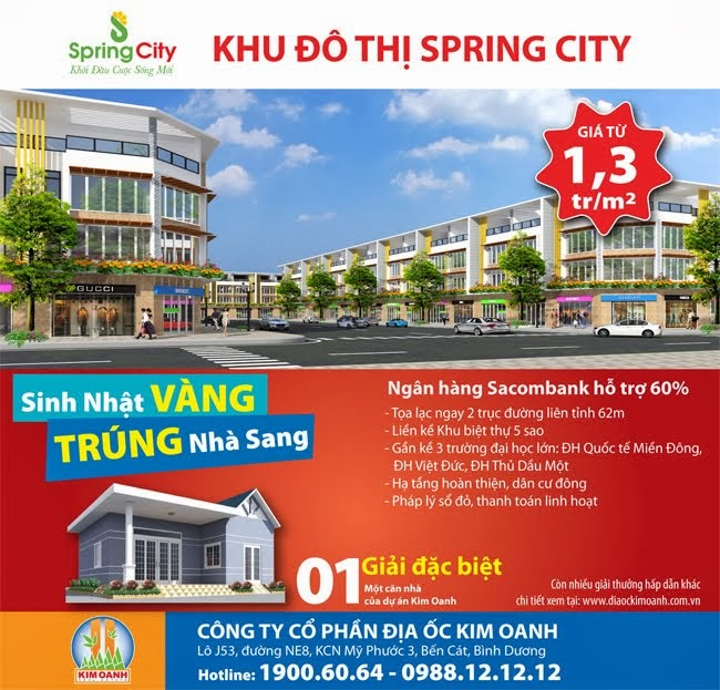 Dự án mới Spring City