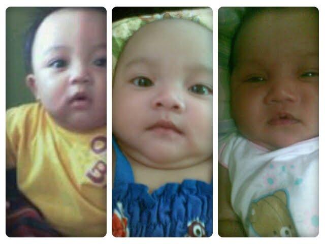 my kids...akif, adriana & qaseh...