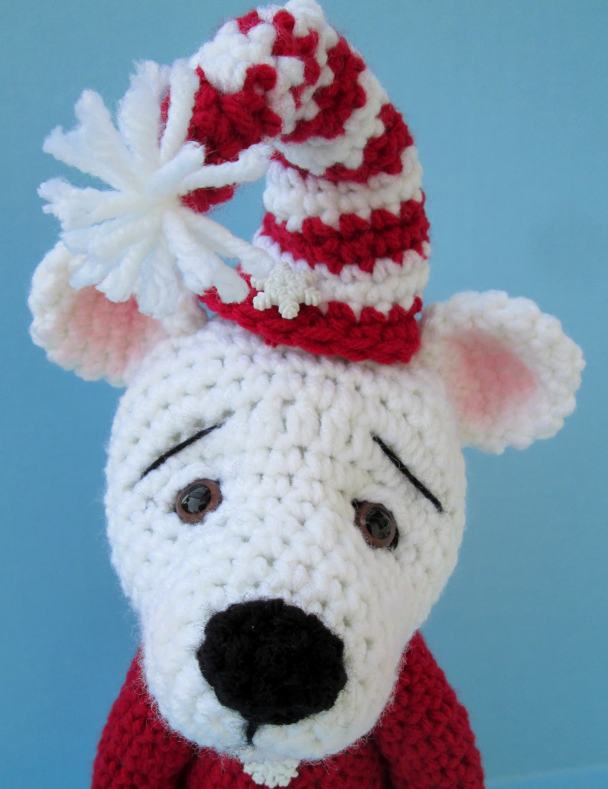 Teris blog love those bears new polar bear crochet pattern newest pattern cute polar bear dt1010fo