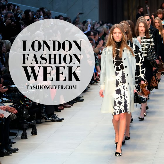 London Fashion Week Show Schedule Fall - Winter 2014