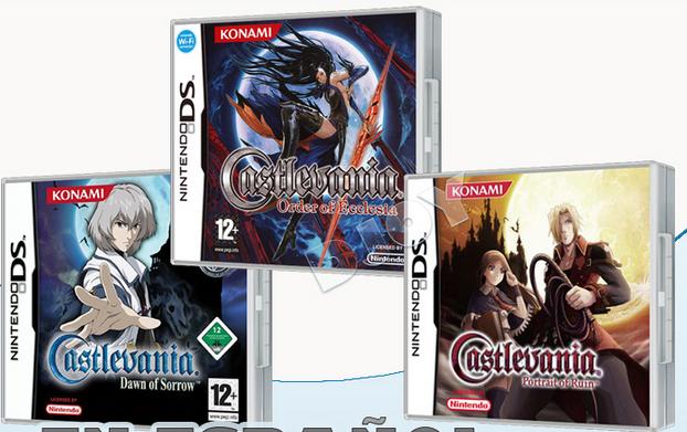 Trilogia Castlevania DS (Español) Nintendo DS
