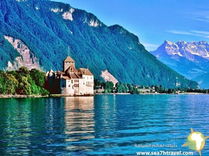 رحلة عبر بحيرة جنيف سويسرا