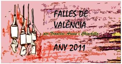 Falles de València (Il·lustració: Ramon Navarro Bonet)