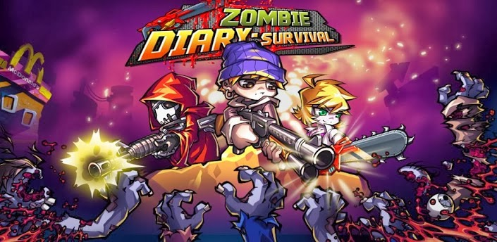 Games Android : Zombie Diary: Survival v1.1.0 Mod (Unlimited Money ...
