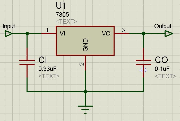 LM7805 embedded systems some voltage regulator ciruits for lm7805 wiring diagram at readyjetset.co