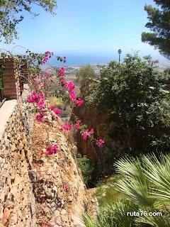 Mirador en Mijas pueblo malaga andalucia españa