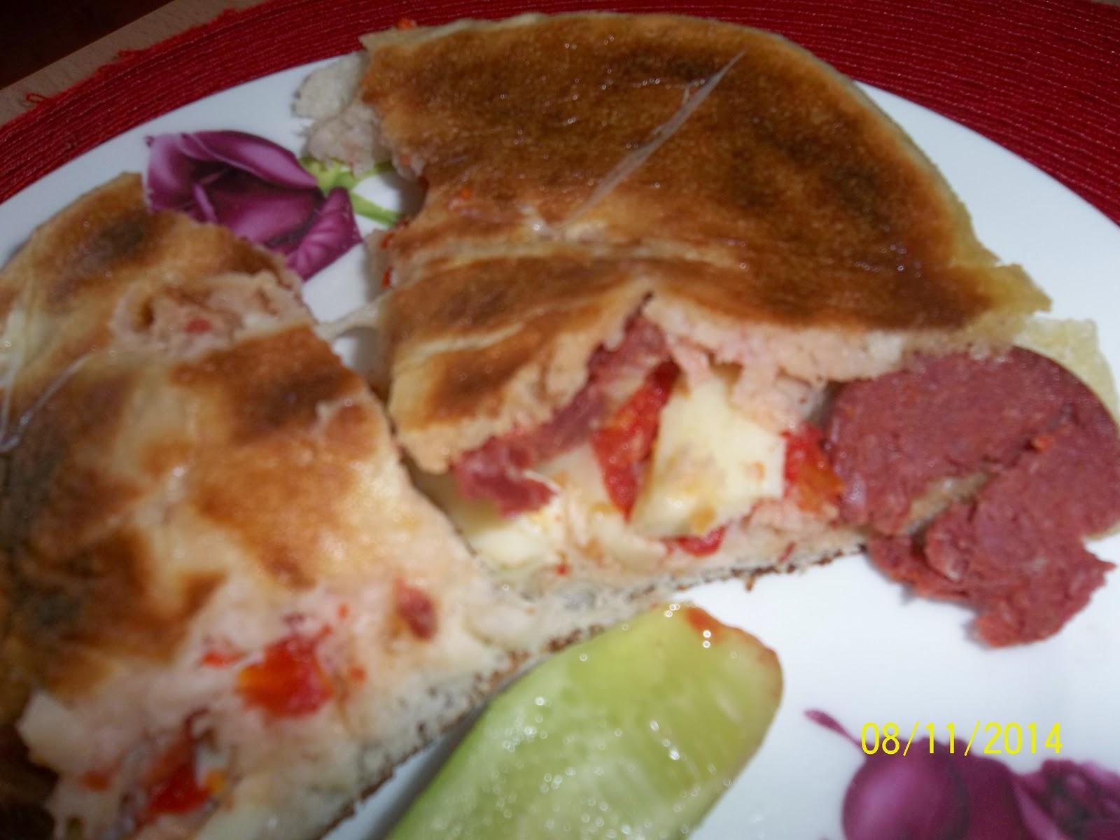 Kapalı Pizza Tarifi