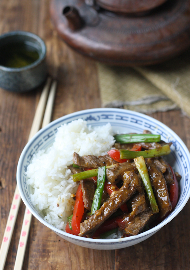 Sichuan Orange Beef by SeasonWithSpice.com