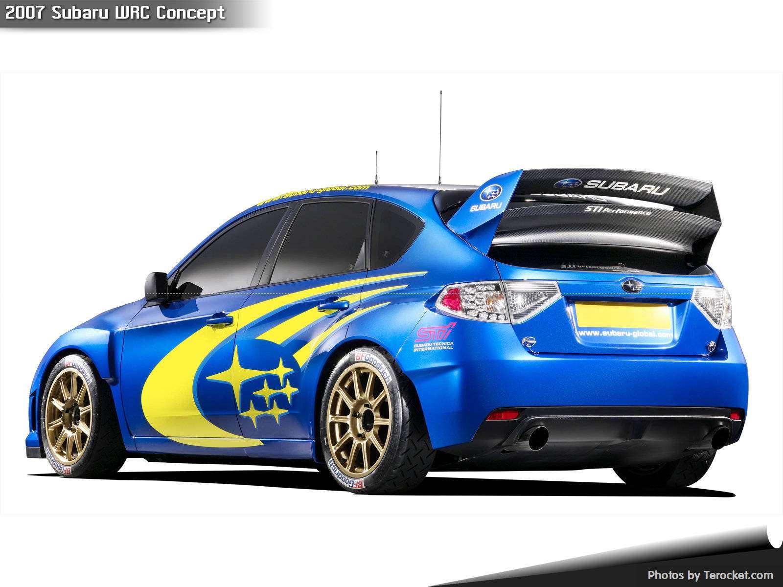Hình ảnh xe ô tô Subaru WRC Concept 2007 & nội ngoại thất