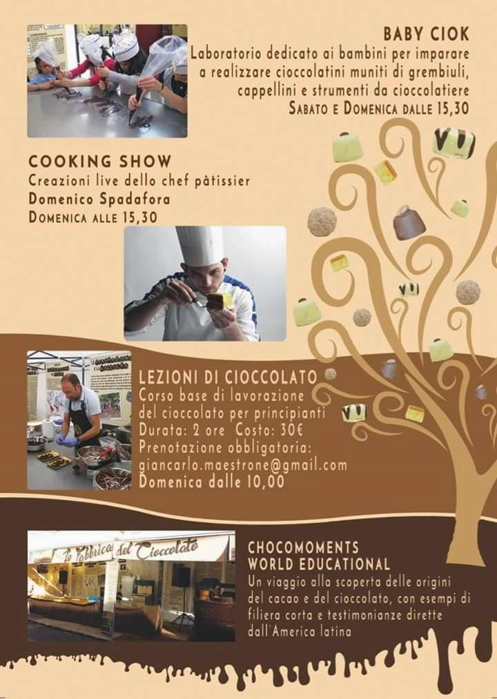 Festa del Cioccolato 31 Gennaio all'1 Febbraio Casalpustrlengo (LO)