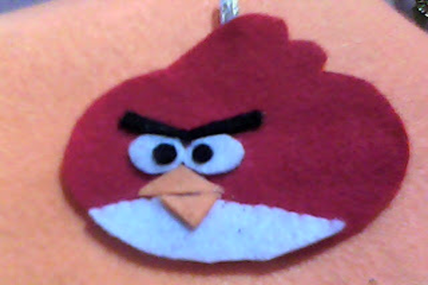 Cara Membuat Boneka Angry Bird dari Kain Flanel 2