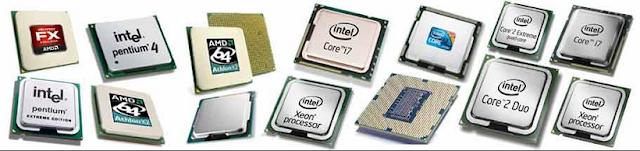 कंप्यूटर प्रोसेसर के प्रकार