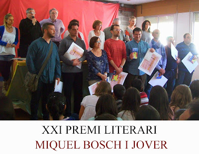 Guardonats - XXI Premi Miquel Bosch i Jover de Poesia